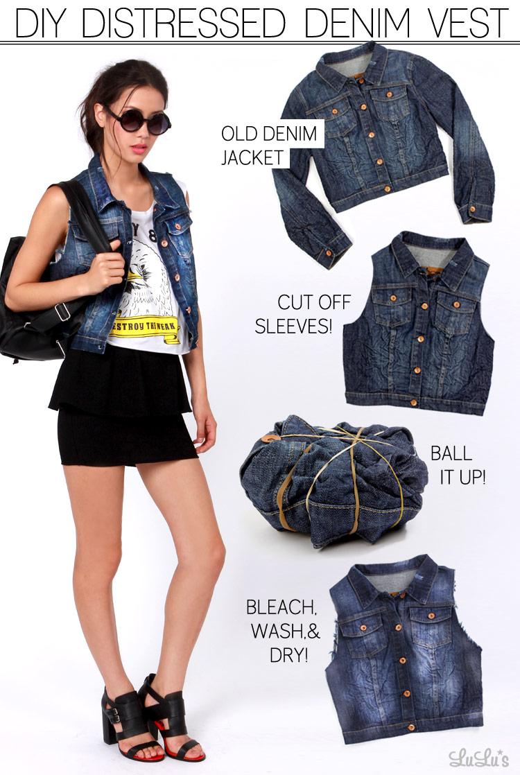 78cb92dc24f DIY  How to Make a Denim Vest - Lulus.com Fashion Blog