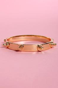 Studs MacKenzie Gold Studded Bracelet