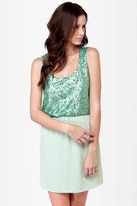Heart to Get Sequin Dress