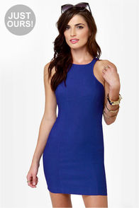 LULUS Exclusive Going Back to Cali Royal Blue Dress