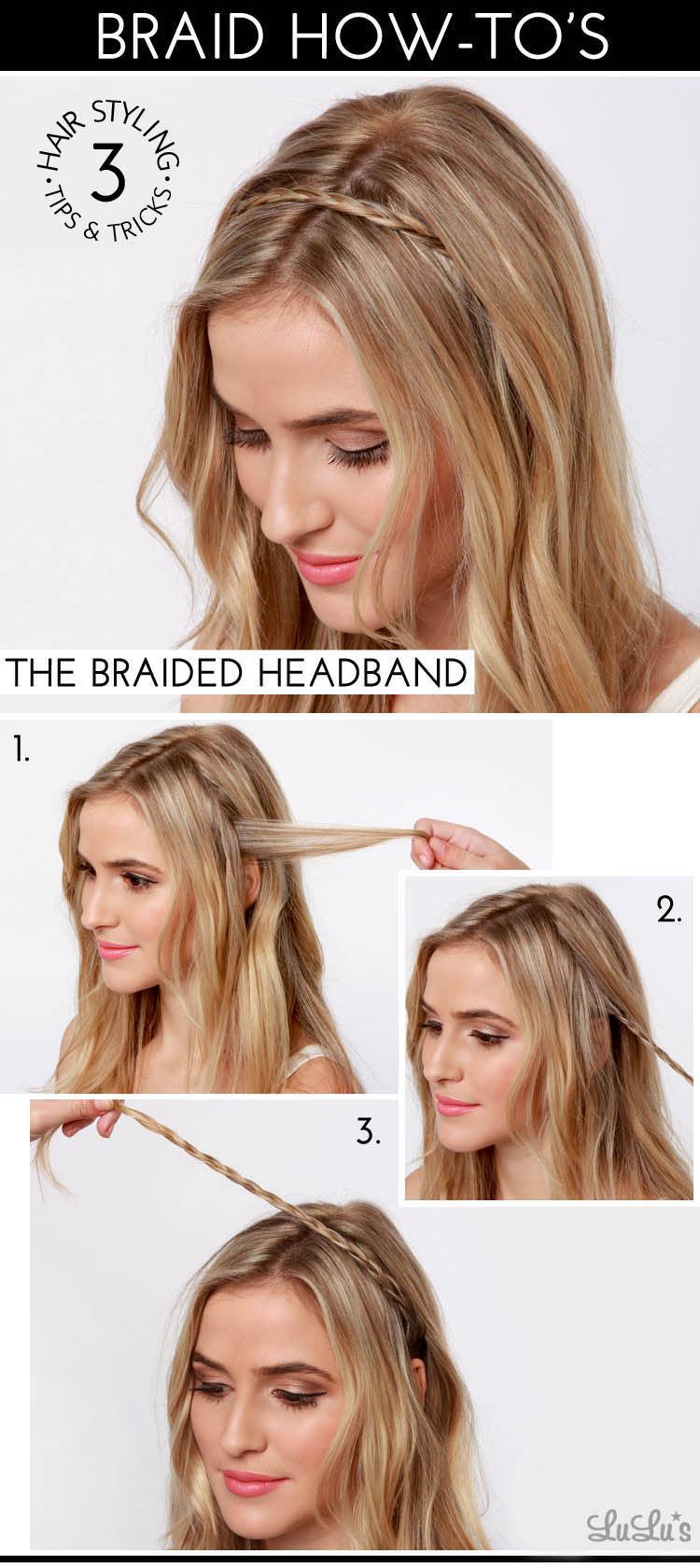 headband braid tutorial - photo #13