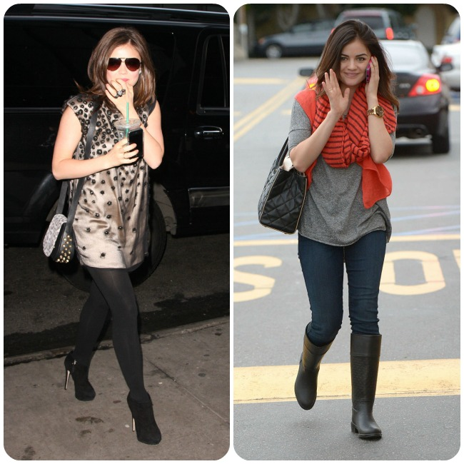 Whatever Lucy Hale is wearing she always looks classy and put-together ...