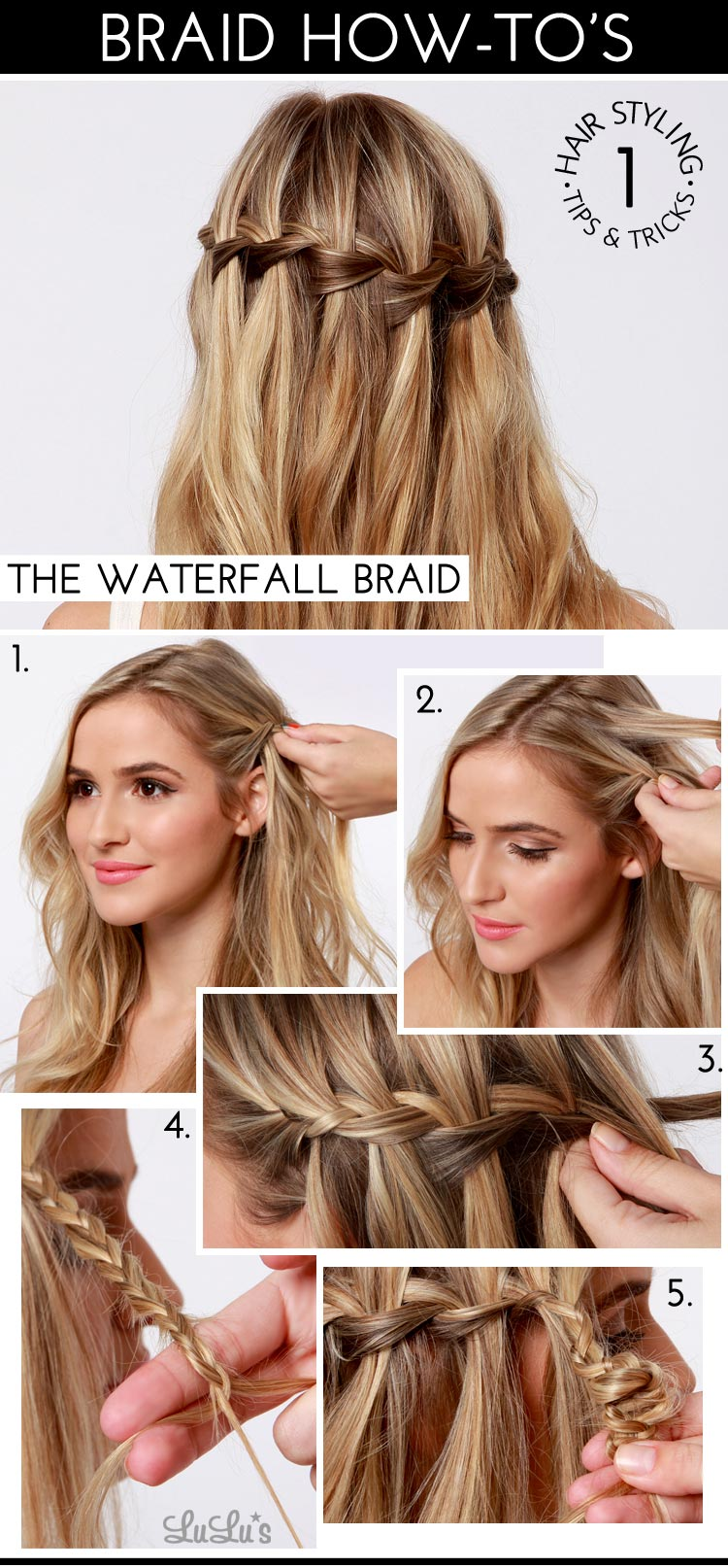 Beauty – lulu s how to waterfall braid