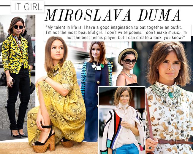 It Girl: Miroslava Duma at LuLus.com!