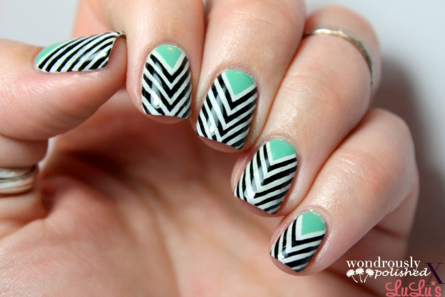 Manicure Monday: Chevron Nail Tutorial at LuLus.com!
