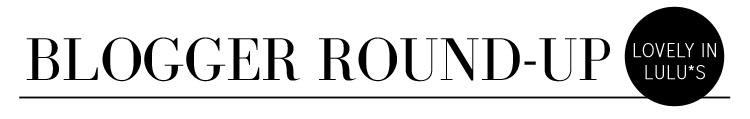 BloggerRoundUp