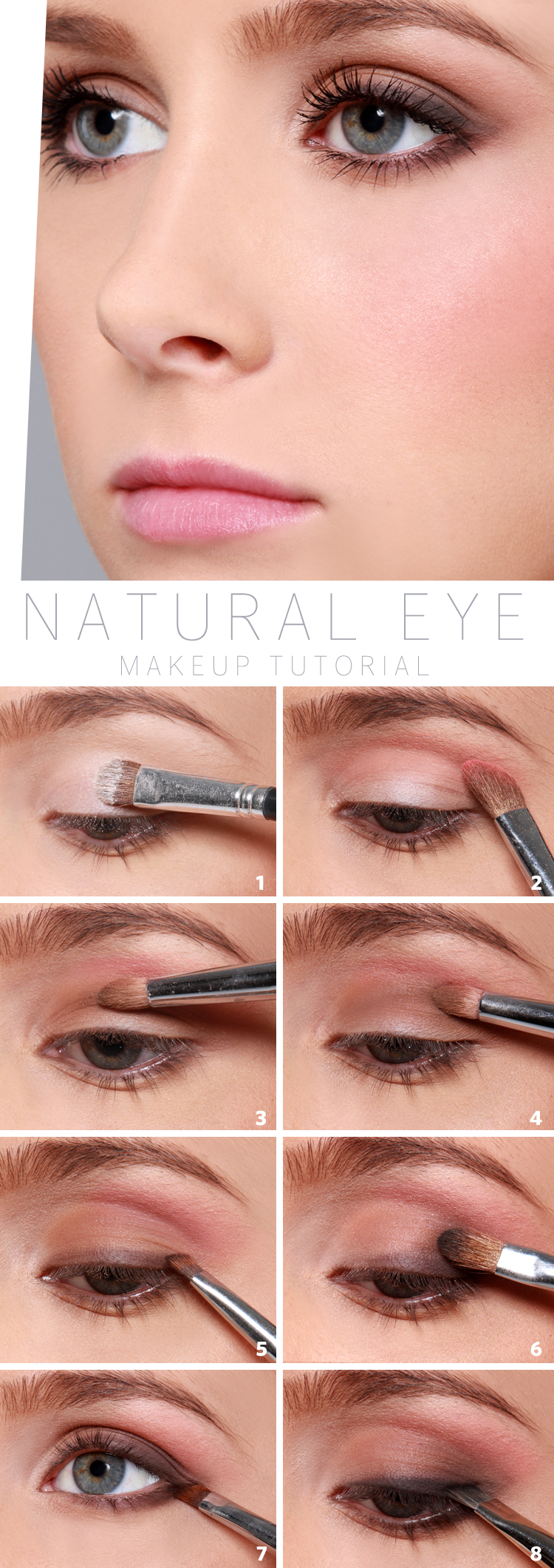 Lulus How-To: Natural Eye Makeup Tutorial - Lulus.com Fashion Blog
