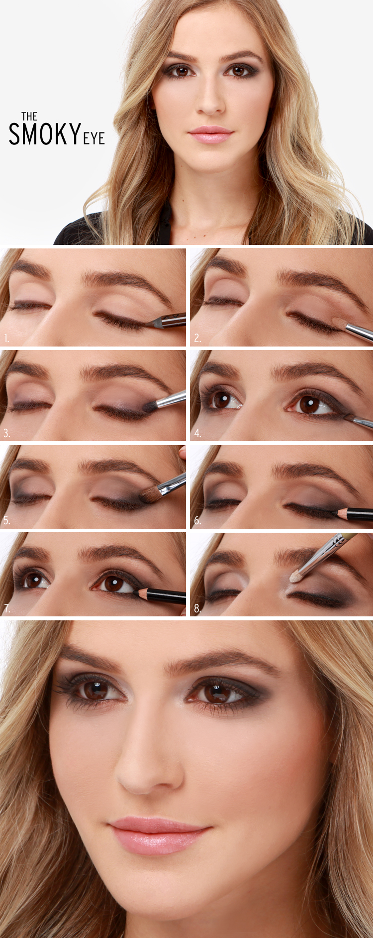 NYX by  tutorial makeup the lid  Perfection using lining Brown eye pencil natural Begin  upper model