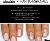 Mani Monday: Champagne and Gold Glitter Nail Tutor…