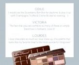 LuLu*s x Too Faced Chocolate Bar Eye Shadow Commen…