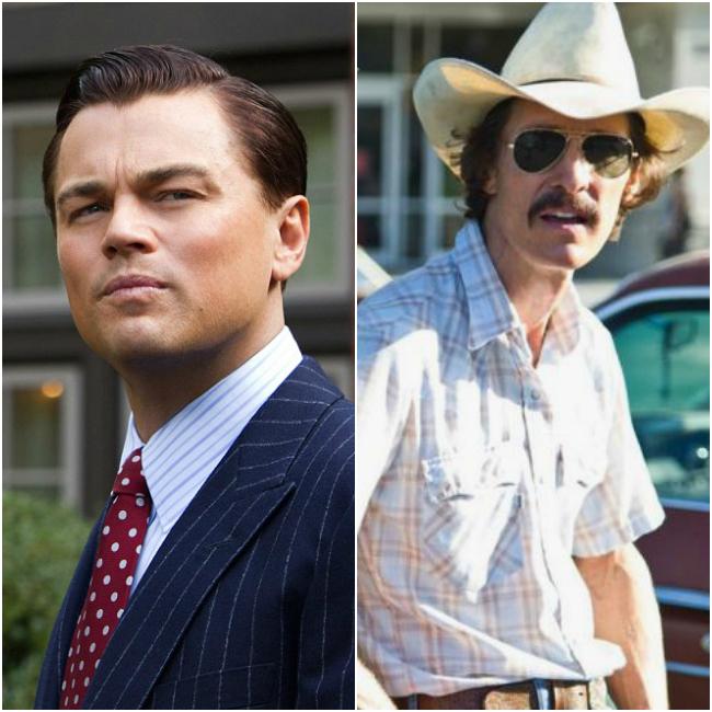 Best Actor – Matthew McConaughey (Dallas Buyers Club) vs. Leonardo