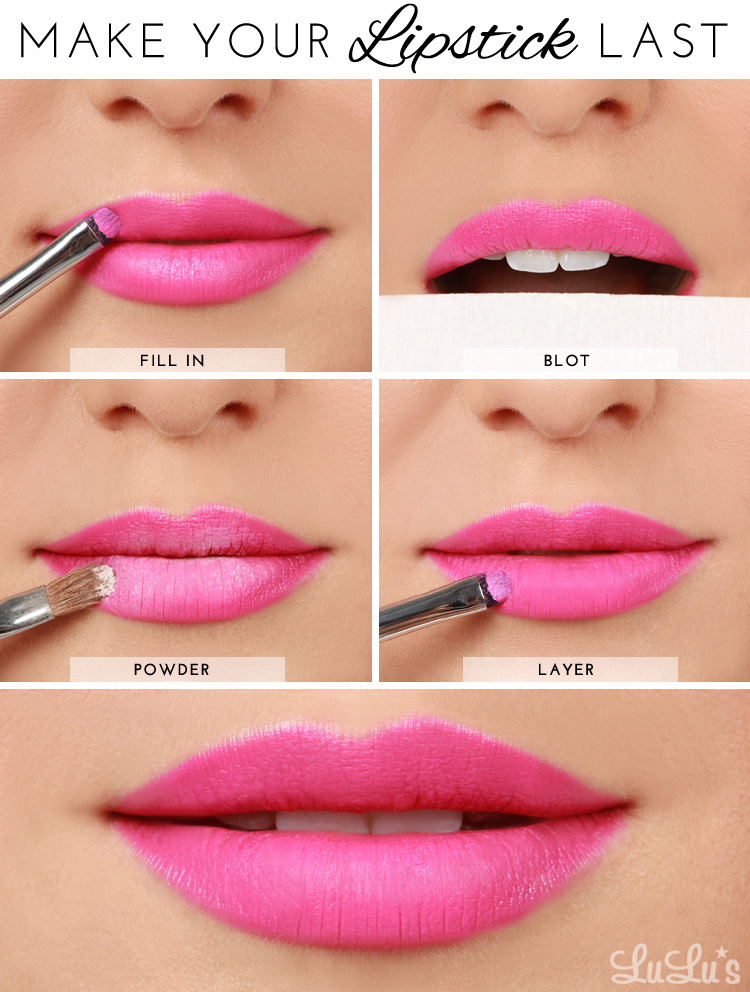 How-to Make Your Lipstick Last Beauty Tutorial