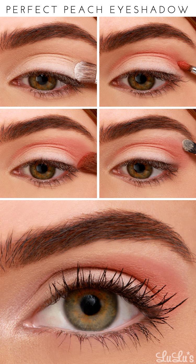 LuLu*s How-To: Perfect Peach Eyeshadow Tutorial at LuLus.com!