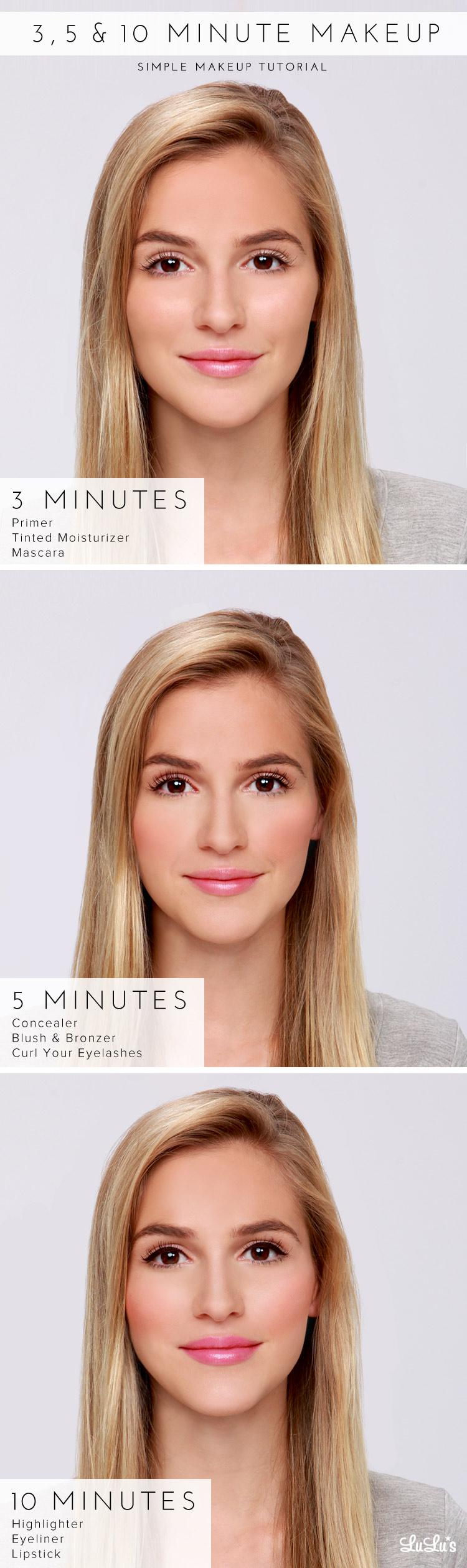Lulus How-To: 12, 12 & 12 Minute Makeup Tutorial - Lulus.com Fashion