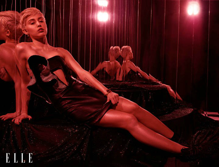 Cyrus Elle Spread