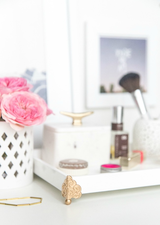 LuLu*s Fresh Spaces: DIY Vanity Tray at LuLus.com!