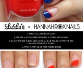 Mani Monday: Blue Scalloped Nail Tutorial