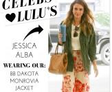 Celeb Spotting: Jessica Alba in LuLu*s!