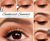 LuLu*s How-To: Sunkissed Summer Gold Eyeshadow Tut…