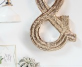 LuLu*s Fresh Spaces: Sequined Monogram Wall Art