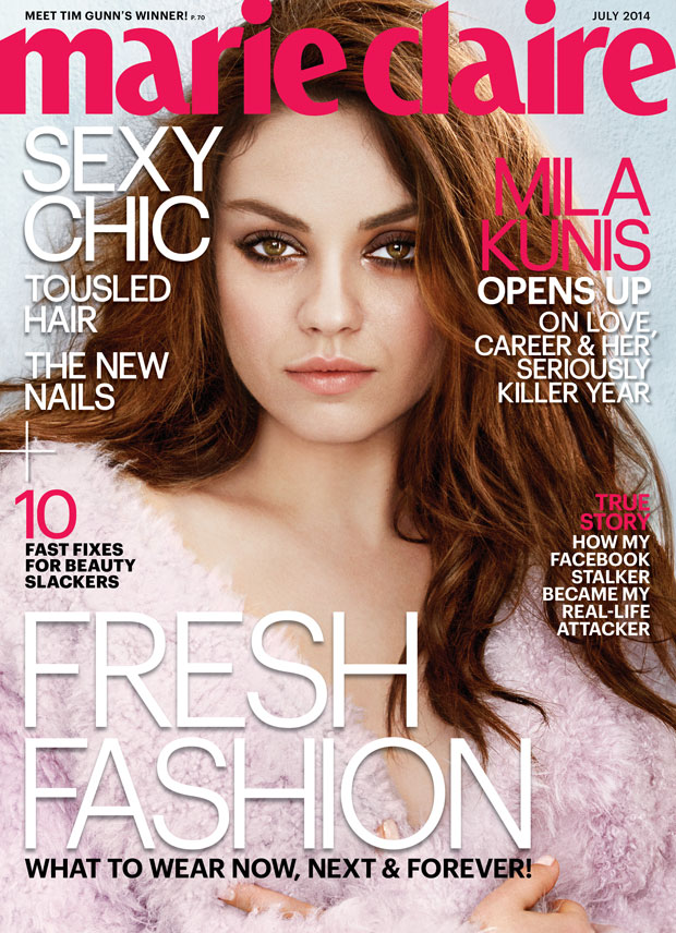 Mila Kunis for Marie Claire