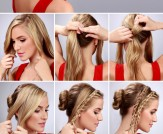 LuLu*s How-To: Double Braid Into Bun