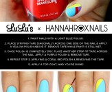 Mani Monday: Multi-Color Geometric Nail Tutorial
