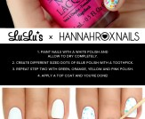Mani Monday: Neon Splatter Nail Tutorial