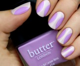 Mani Monday: Nude and Lavender Hourglass Nail Tuto…