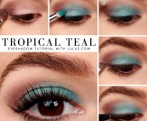 LuLu*s How-To: Tropical Teal Eyeshadow Tutorial