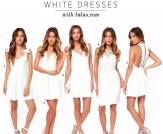 The Little White Dress for Summer 2014