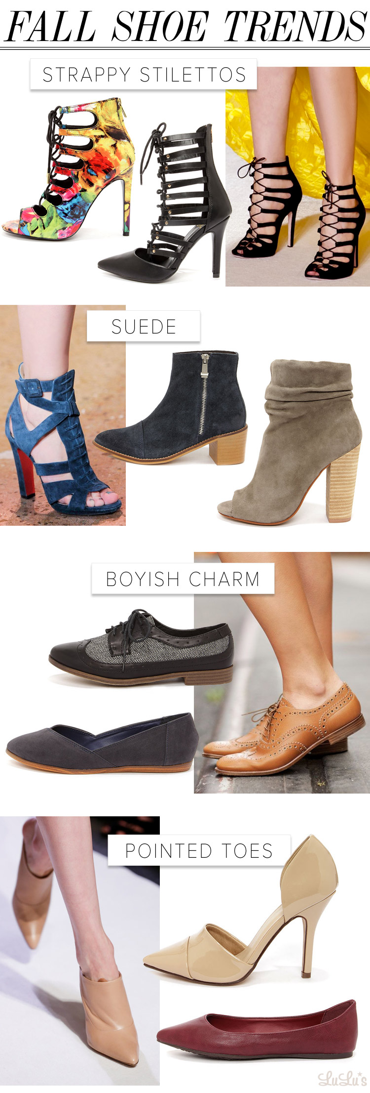 fall shoe trends 2014