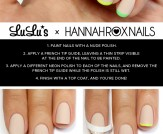 Mani Monday: Nude and Neon French Tips Nail Tutori…
