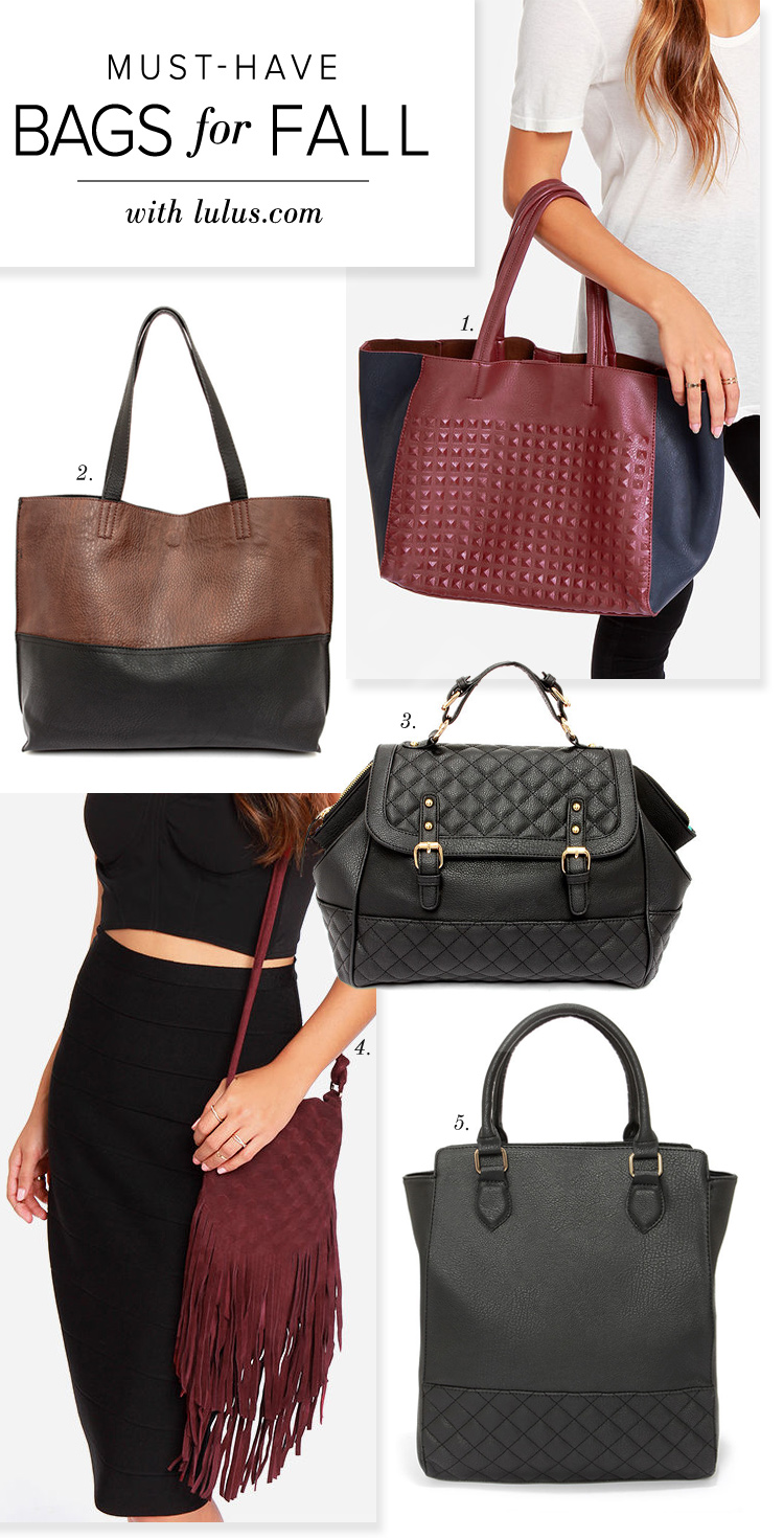 bags for fall 2014