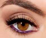 Trend to Try: Bright Purple Eyeliner