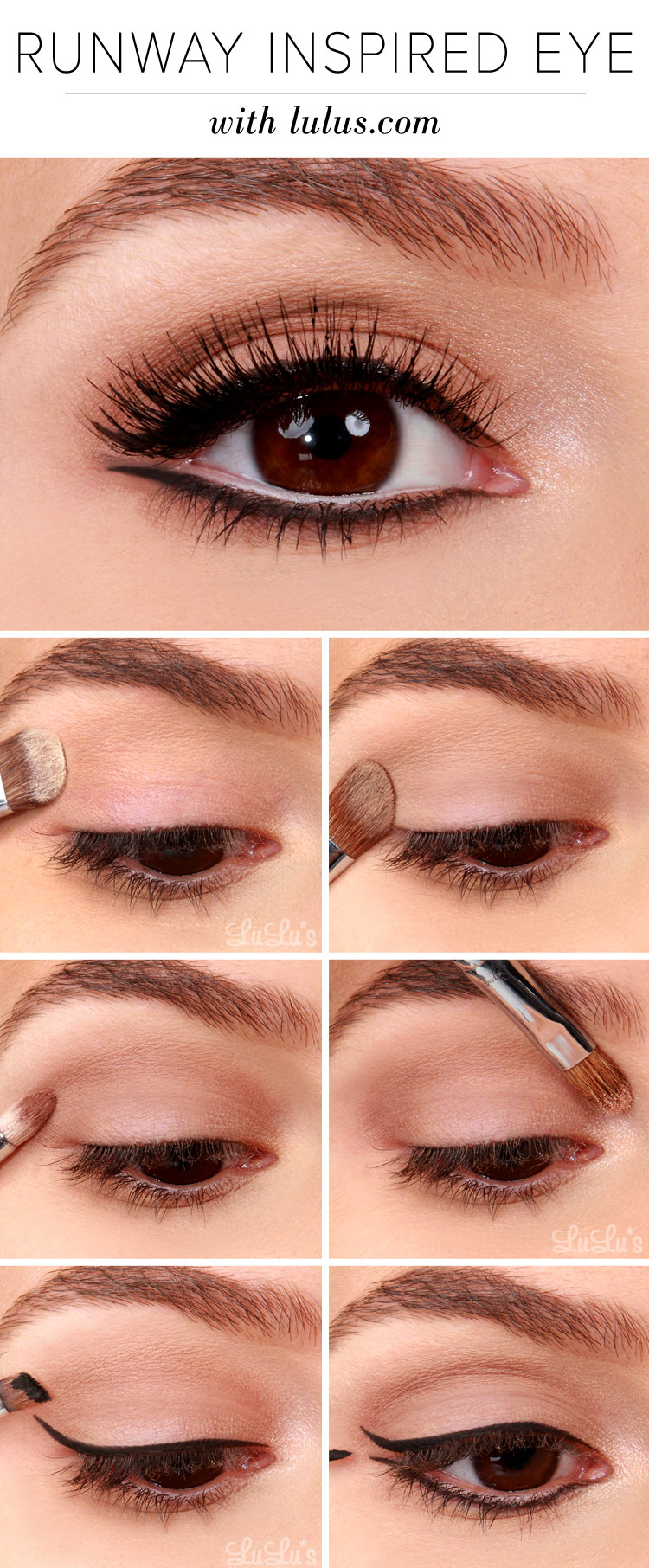 Easy makeup looks for brown eyes