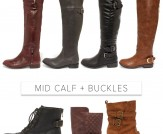 Fall Boots Round-Up!