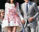 Style File: Amal Alamuddin's Wedding Weekend…