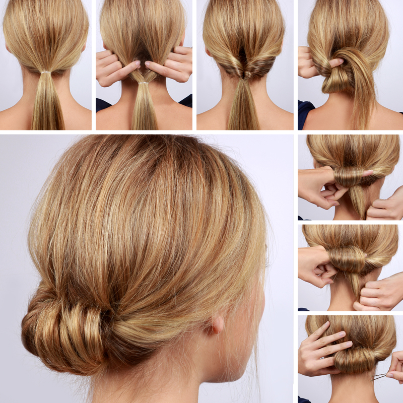 Lulus How To Low Rolled Updo Hair Tutorial Lulus Com