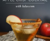 Sparkling Apple Crisp Cocktail