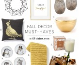 Home Chic Home: Fall Decor Must-Haves!