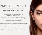 Get the Look: Party Perfect Makeup
