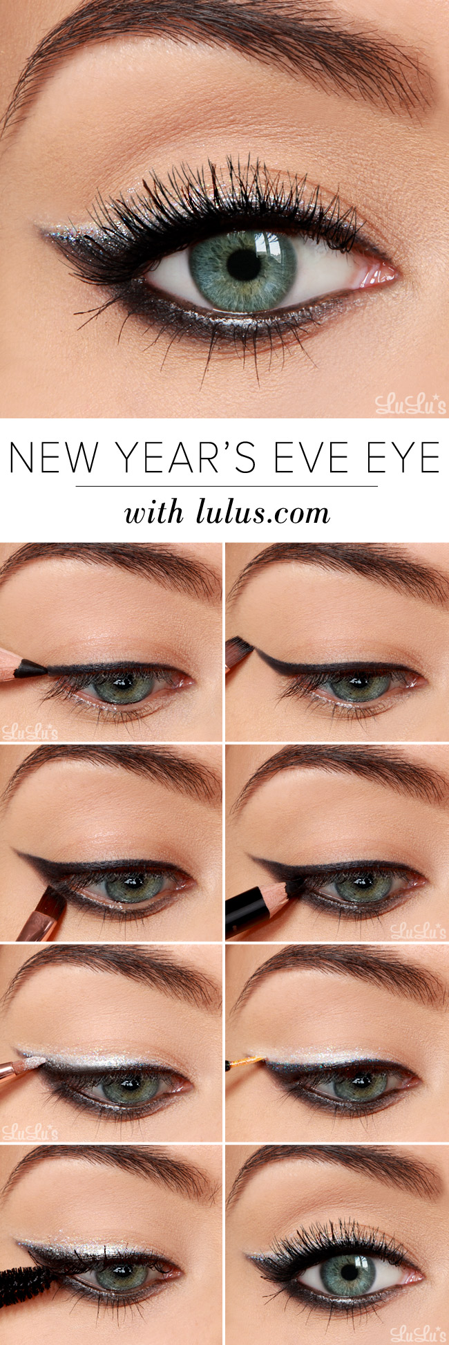 How-To: New Year's Eve Eyeshadow Tutorial