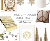 Home Chic Home: Holiday Decor Must-Haves!