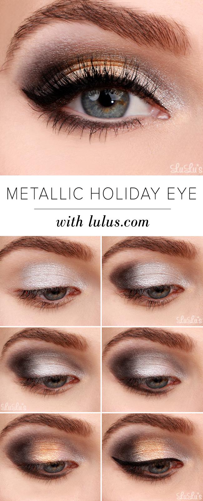 Metallic Holiday Eyeshadow