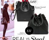 Real vs. Steal: Mansur Gavriel Bucket Bag