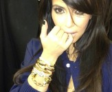 Get the Look: Gold Nail Bangle