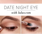 LuLu*s How-To: Date Night Eyeshadow Tutorial