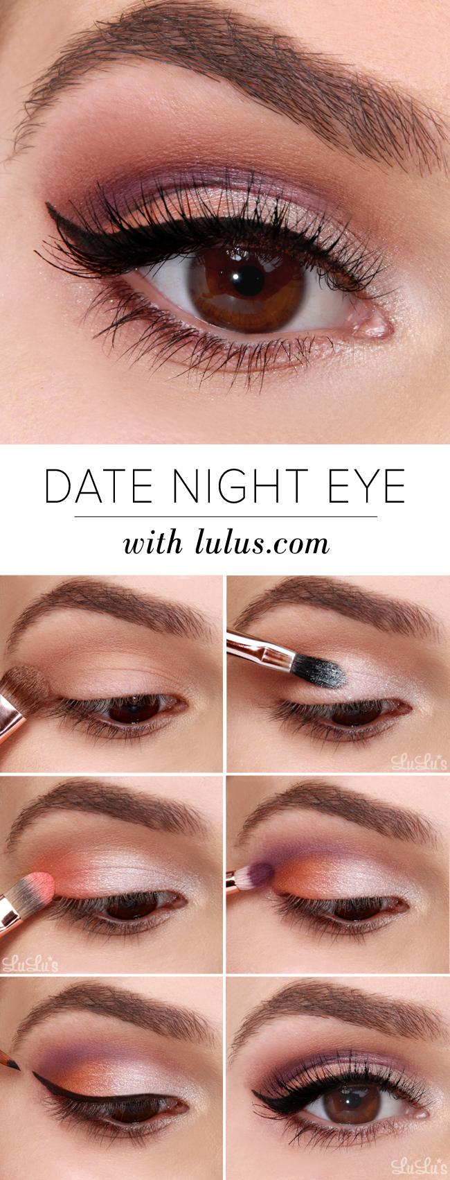 date night eyeshadow