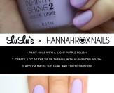 Mani Monday: Matte Lavender Nail Tutorial